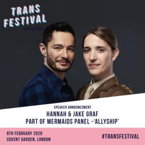 Jake and Hannah Graf - Trans Festival London