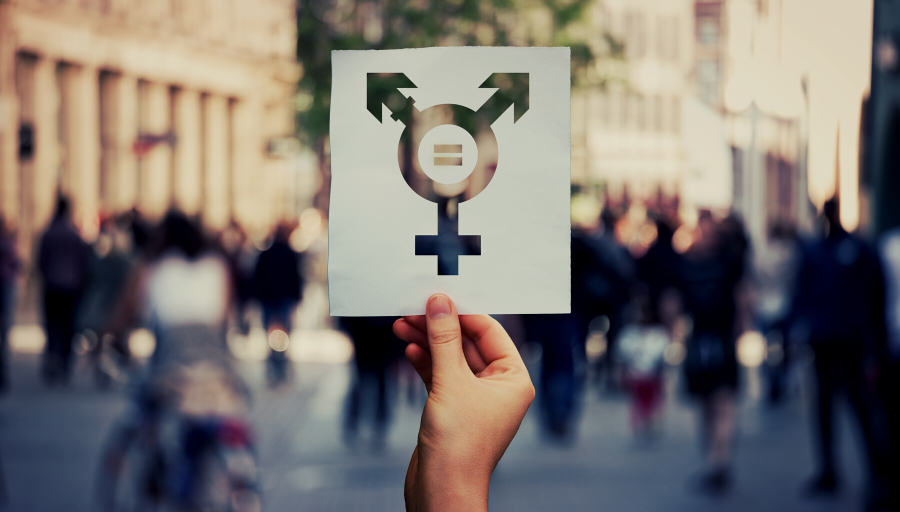 Growing up between the cracks: an intersex person's account of realising their true gender