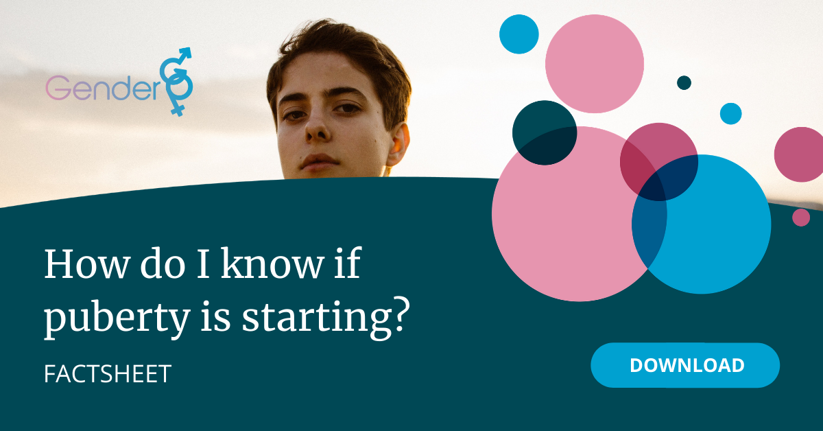 How do I know if puberty is starting?