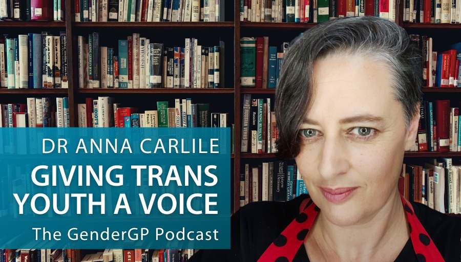 Giving trans youth a voice with Dr Anna Carlile