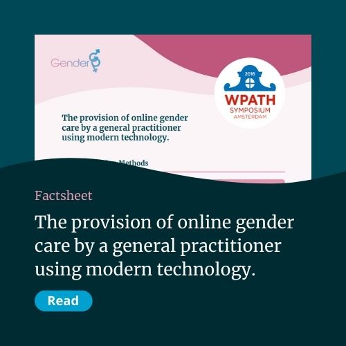 The provision of online gender care by a general practitioner using modern technology