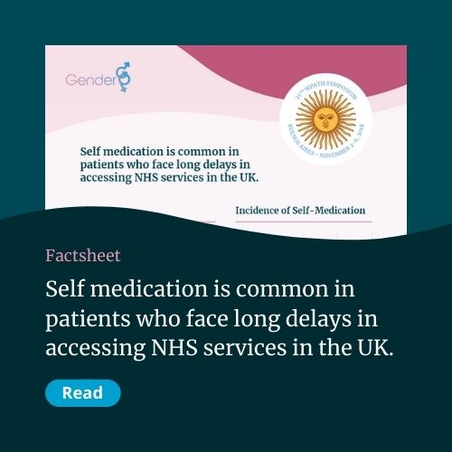 Self medication is common in patients who face long delays in accessing NHS services in the UK