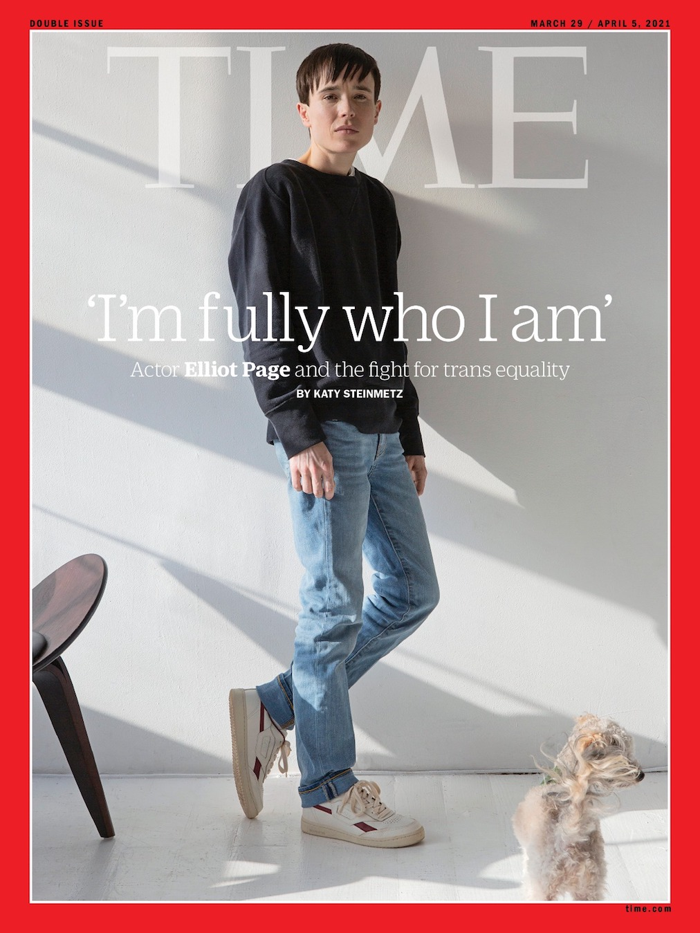 Elliott Page - Cover of TIME Magazine