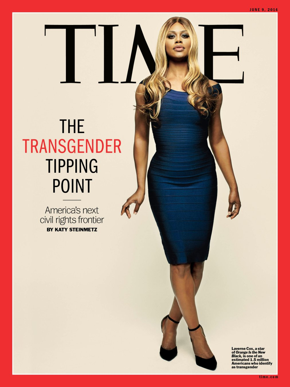 Laverne Cox - Cover of TIME Magazine