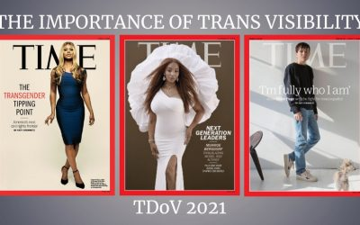 The importance of trans visibility: TDoV 2021