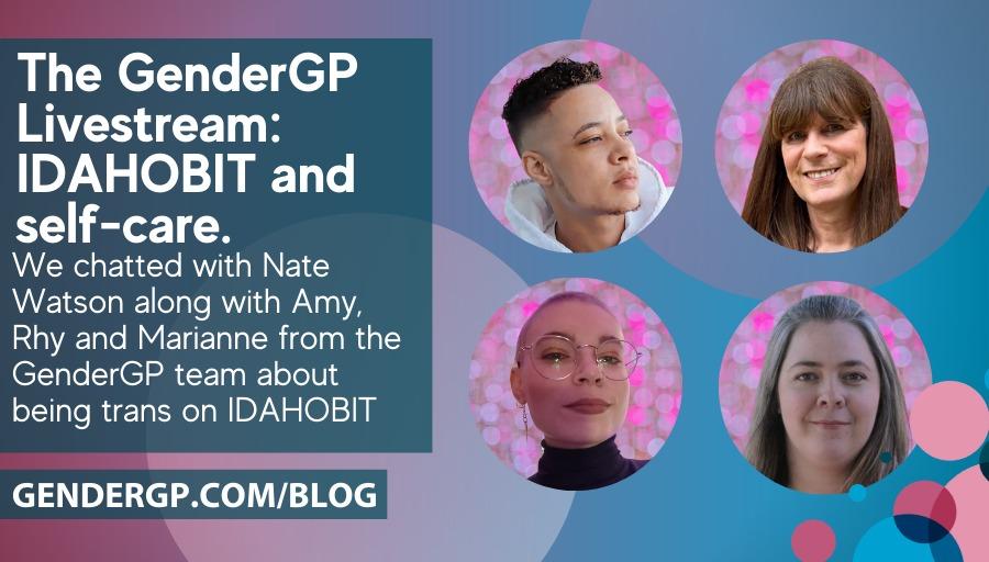 Watch the GenderGP livestream for IDAHoBiT 2021