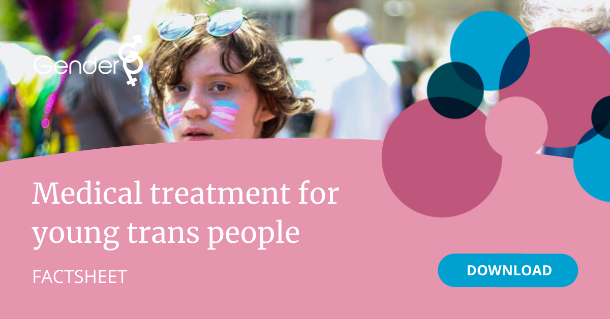 Medical treatment for young trans people