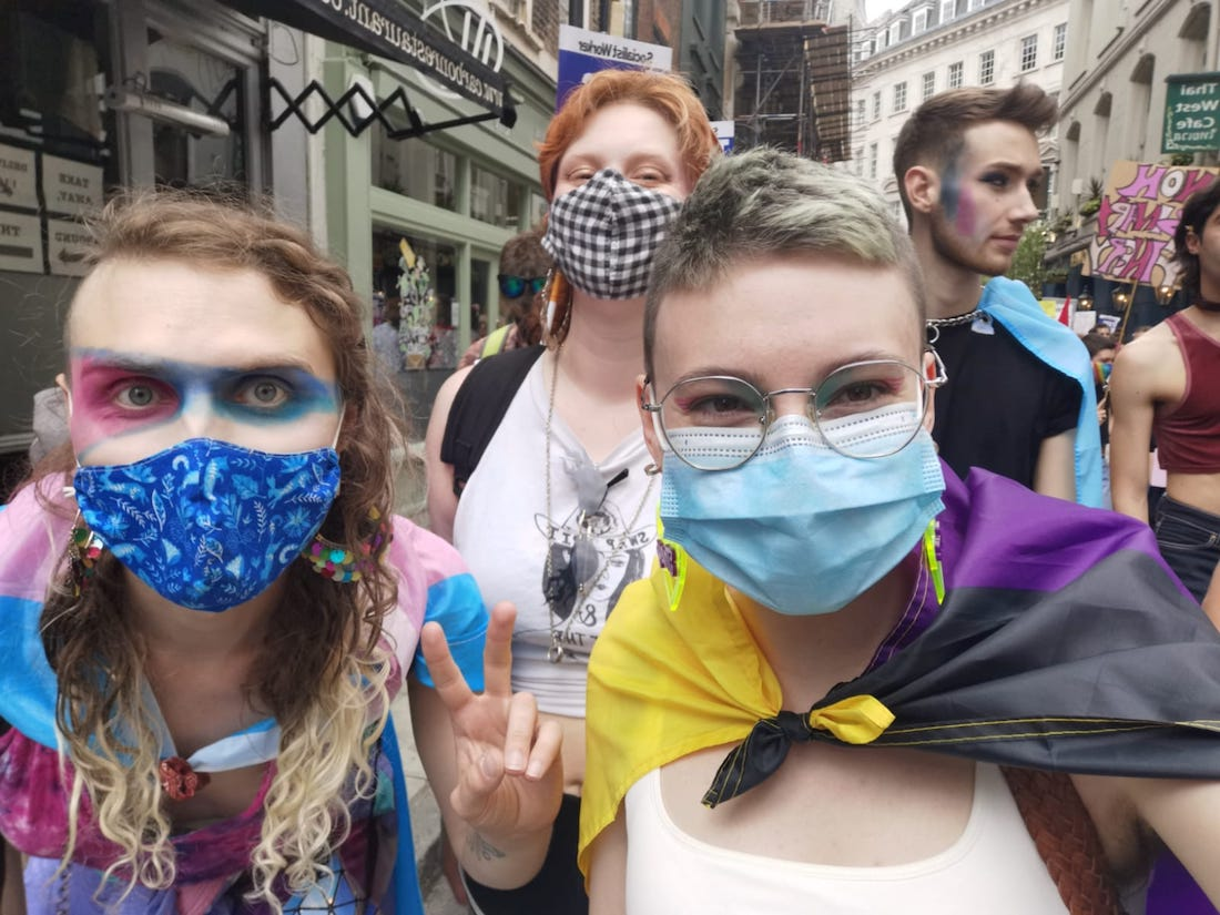 Trans Pride London 2021