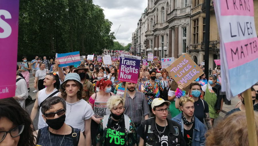 London Trans Pride 2021