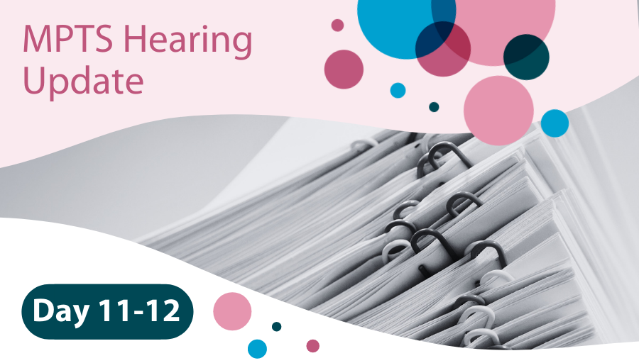MPTS Hearing Day 11-12