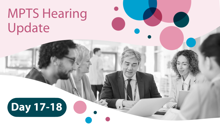 MPTS Hearing Days 17-18