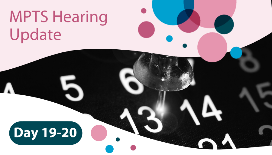 MPTS Hearing Days 19-20