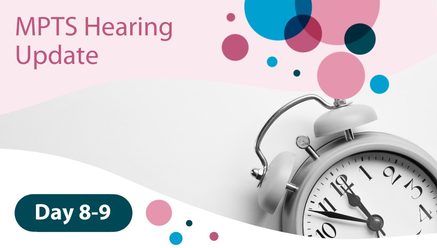 MPTS Hearing Day 8-9