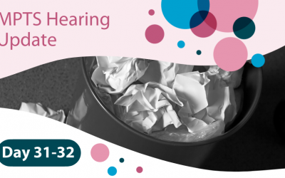 MPTS Hearing Days 31-32