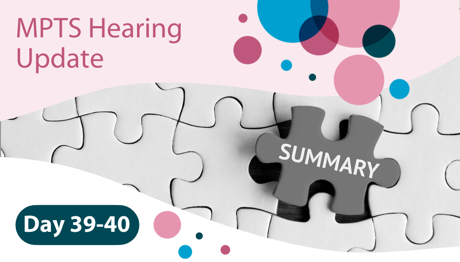 MPTS Hearing Days 39-40
